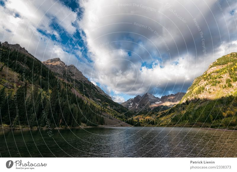 Maroon-Snowmass Wilderness in Colorado Harmonious Well-being Contentment Senses Relaxation Calm Vacation & Travel Expedition Camping Mountain Hiking Environment