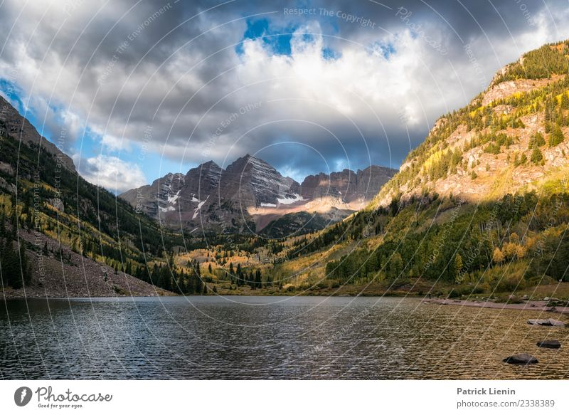 The Deadly Bells, Maroon-Bells Wilderness, Colorado Well-being Contentment Senses Relaxation Calm Vacation & Travel Trip Adventure Far-off places Freedom