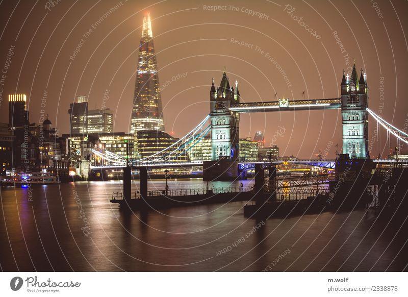 london calling London Tower Bridge Themse England Europe Town Capital city Skyline High-rise Architecture Tourist Attraction Landmark Monument Esthetic