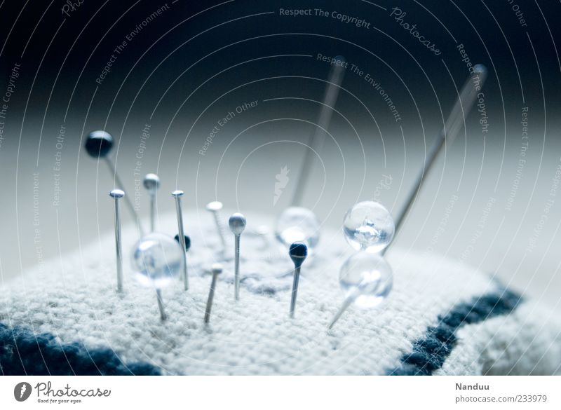 Metal Round Point Symbols and metaphors Plastic Needle Pin Tailor Depth of field Pincushion