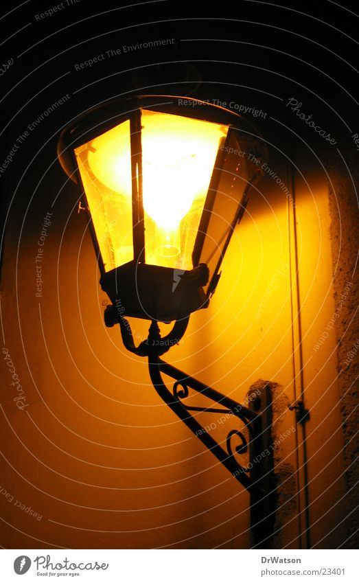 streetlamp Lantern Night Street lighting Historic Light Obscure Old town