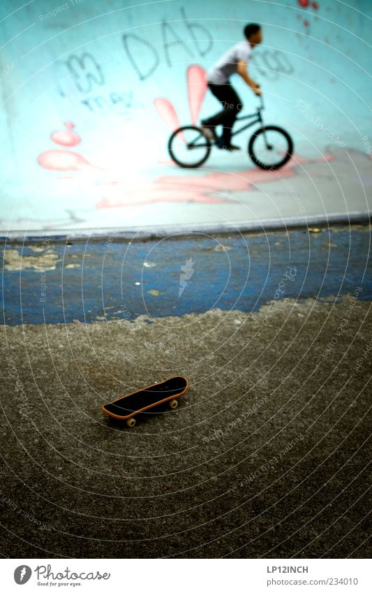 AM STER DAM IV Leisure and hobbies Sports Sportsperson Cycling Skateboard Skate park BMX bike Halfpipe Masculine Young man Youth (Young adults) Man Adults 1