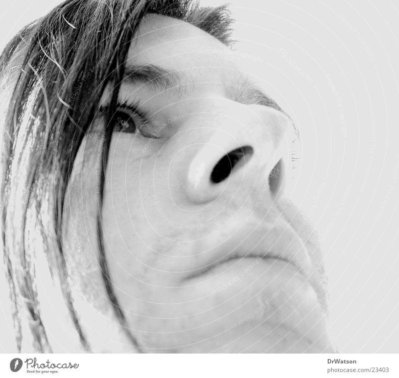 Man Face Dream Sadness Think