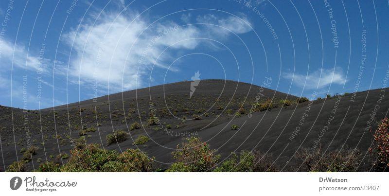 Black Mountain Sand Hill Volcano Lava Canaries La Palma