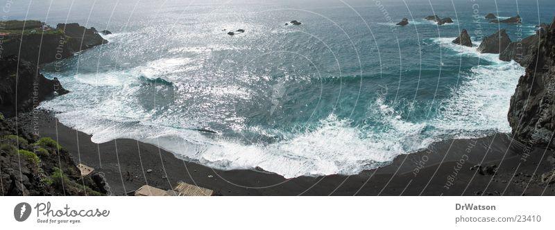 Water Ocean Beach Sand Waves Rock Bay Surf Sandy beach