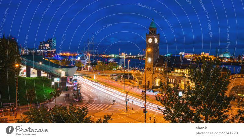Vacation & Travel Town Germany Hamburg Skyline City