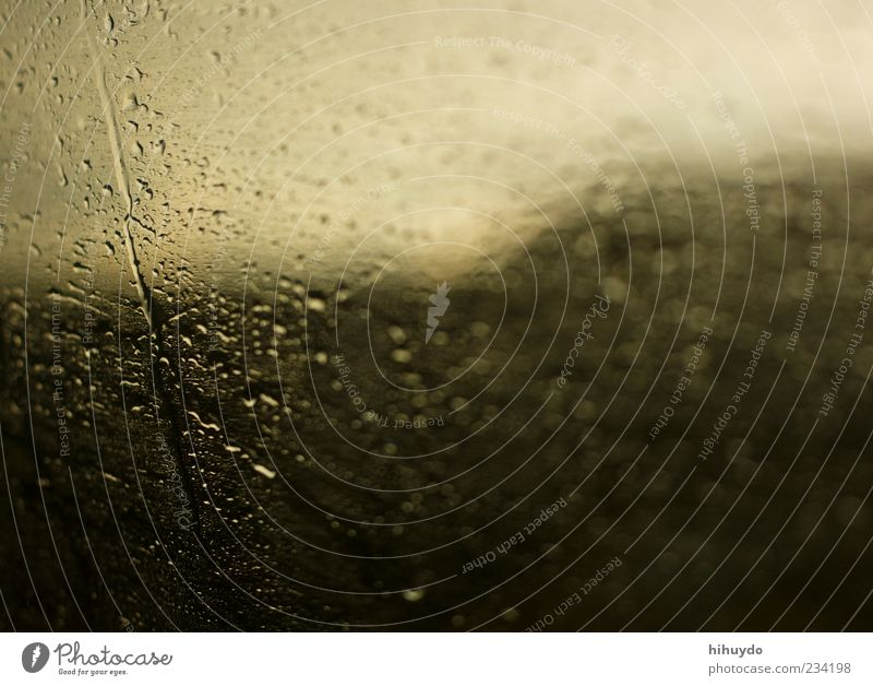 Water Window Rain Wind Drops of water Drop Storm Gale Thunder and lightning Window pane Bad weather Means of transport