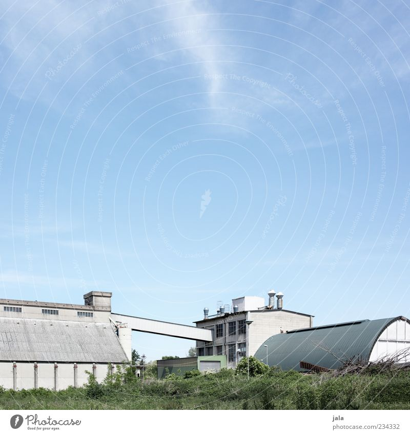 Sky Meadow Architecture Building Gloomy Industry Factory Manmade structures Company Industrial plant