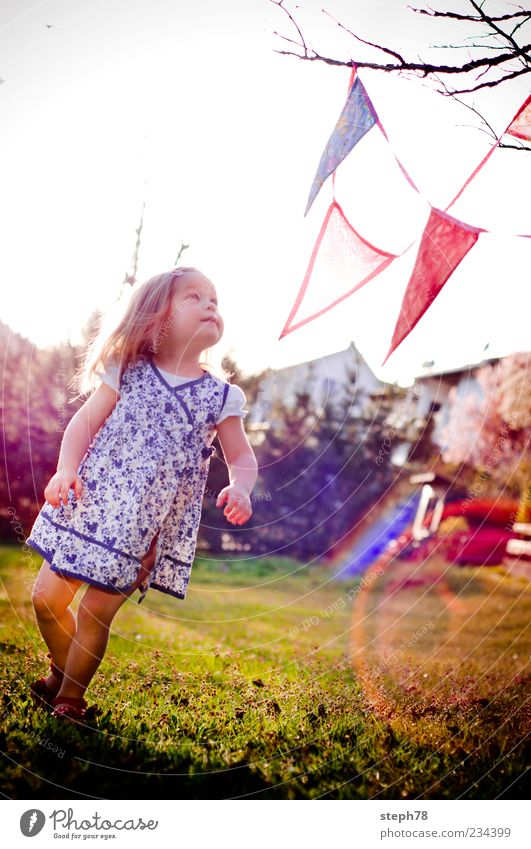Child Girl Summer Joy Relaxation Life Playing Emotions Garden Style Fashion Dream Moody Contentment Decoration Lifestyle