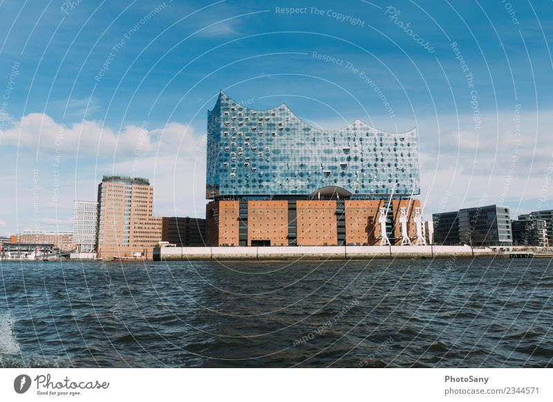 Hamburg Philharmonic Orchestra philharmonic orchestra Germany Sky Water Town