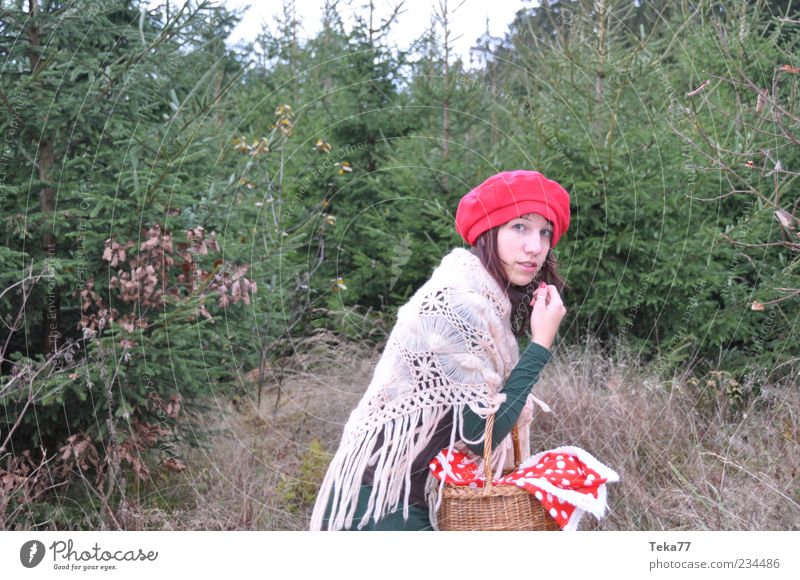 Human being Nature Youth (Young adults) White Green Red Adults Forest Environment Landscape Autumn Feminine Fear Exceptional Esthetic 18 - 30 years