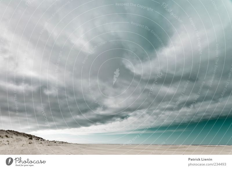 Nature Sky Ocean Clouds Dark Gray Sand Landscape Air Moody Power Coast Wind Weather Environment Tall