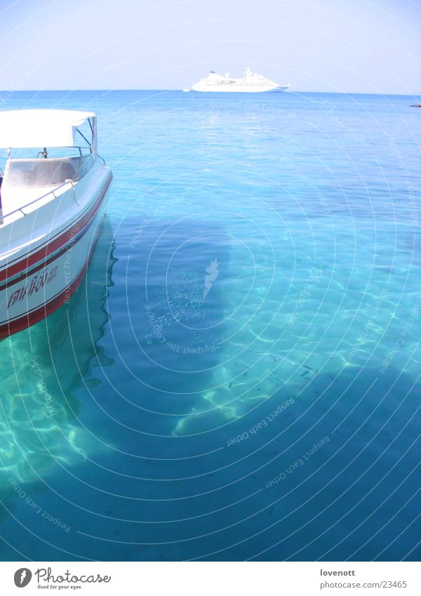 Koh kood Laguna Sky Thailand Asia sea vacation boat aim blue Sand
