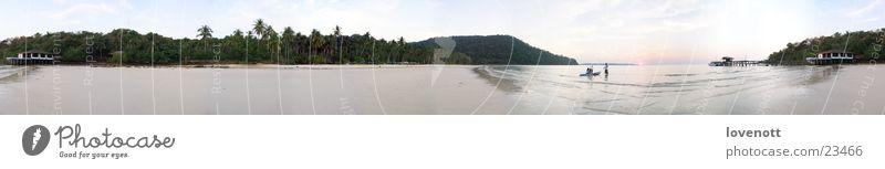 Sky Sand Large Asia Panorama (Format) Thailand Nature
