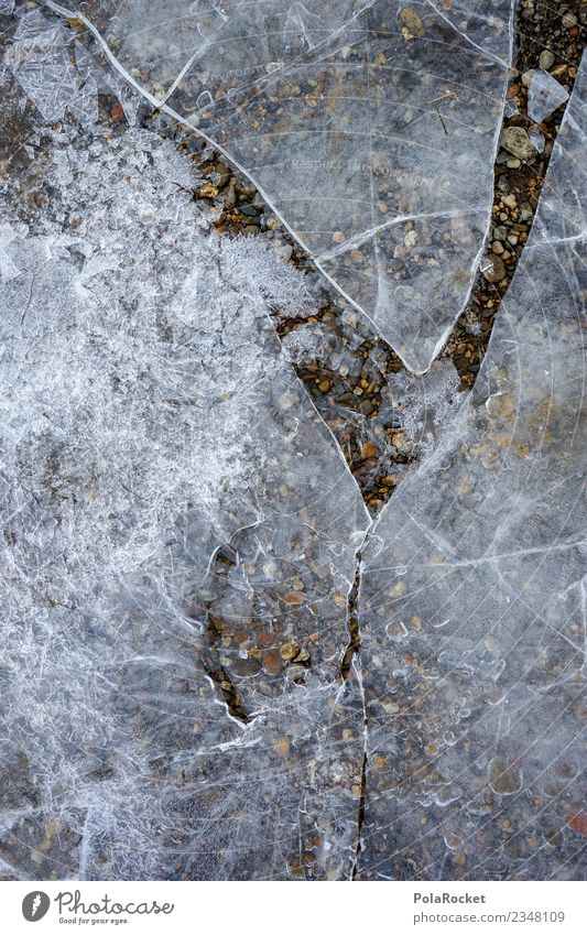 #S# broken ice Environment Truth Ice Broken Fragile Fear Cold Winter Frost Surface Stone Smoothness Frozen surface Crystal Water River Colour photo
