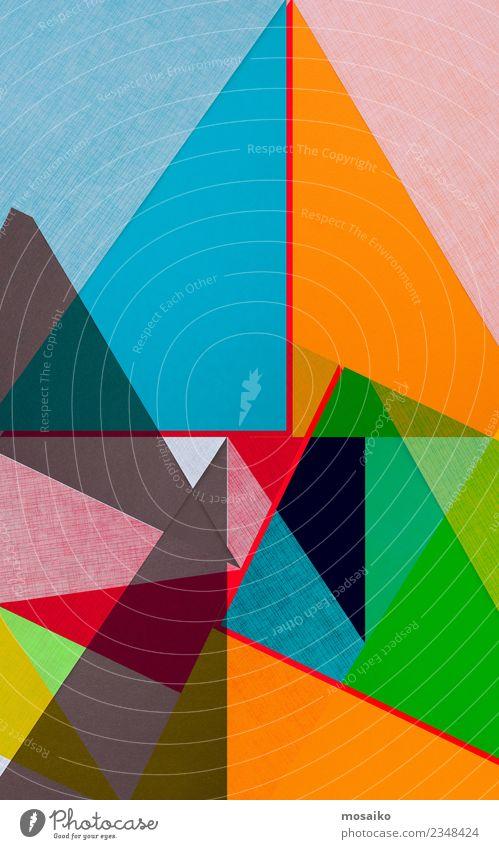 colourful geometric shapes Lifestyle Elegant Style Design Joy Leisure and hobbies Entertainment Event Feasts & Celebrations Art Culture Paper Stripe Esthetic