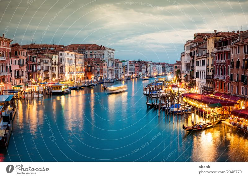 Venezia Vacation & Travel Summer Venice Italy Town Port City Outskirts Tourist Attraction Navigation Boating trip Pedalo Watercraft Lagoon water Canal Grande