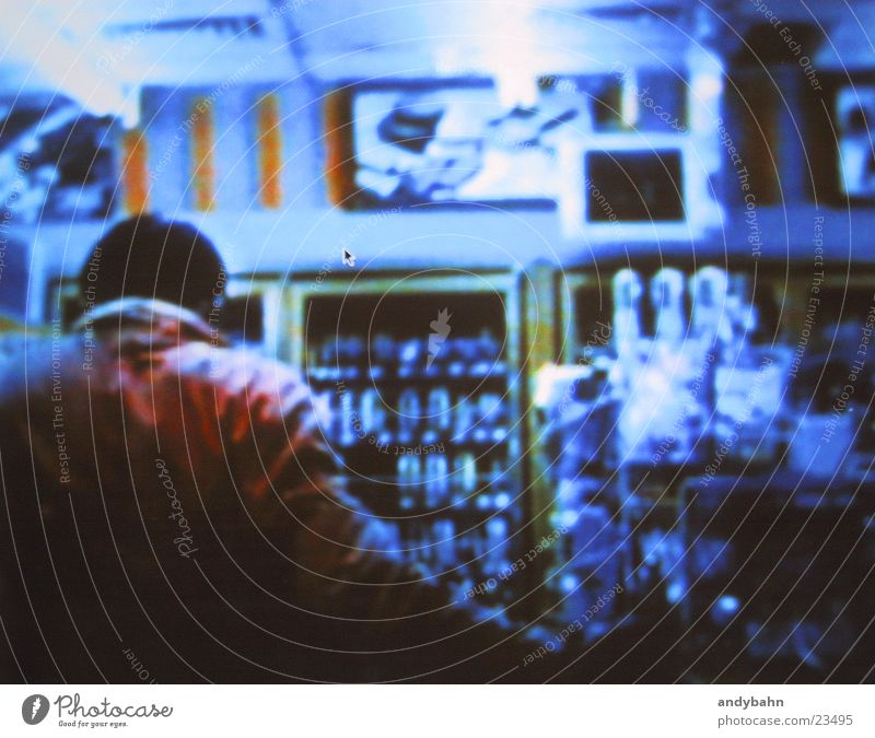 asian supermarket Supermarket Night Asia Cold Photographic technology alienated Back strange