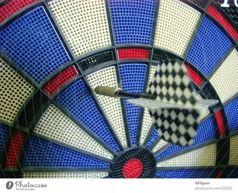 Not always in the black Darts Strike Sports Arrow diamond Target Window pane bullseye Checkered