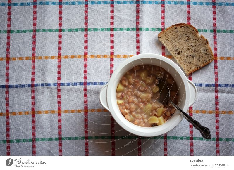 Loneliness Food photograph Nutrition Vegetable Delicious Appetite Bread Still Life Bowl Baked goods Dinner Dough Lunch Tablecloth Spoon