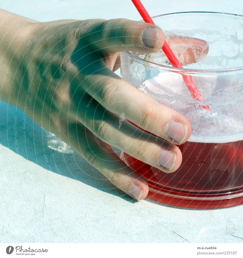 Human being Hand Red Joy Style Glass Arm Elegant Skin Masculine Design Fingers Beverage Lifestyle To hold on