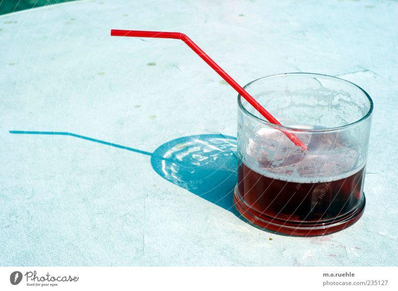 270° westward Lifestyle Style Bar Cocktail bar Beach bar Lounge Joie de vivre (Vitality) Colour photo Glass Beverage Straw Half full Shadow Sunlight Tabletop
