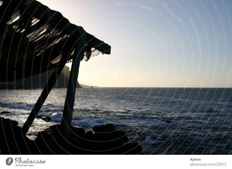 Water Sky Ocean Wood Europe Romance Prop Joist Canopy Fishing net