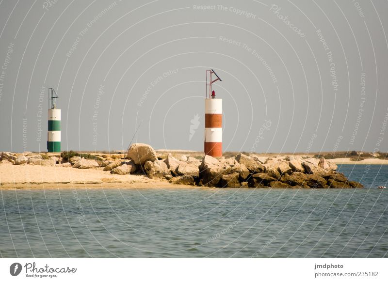 lighthouses Vacation & Travel Tourism Summer Beach Ocean Waves Nature Landscape Water Sky Beautiful weather Coast Lighthouse Colour photo Exterior shot Deserted