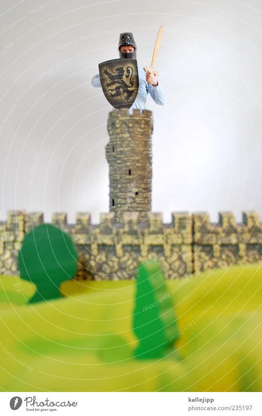 Human being Man Tree Adults Wall (building) Wall (barrier) Power Exceptional Masculine Might Safety Tower Protection Castle Watchfulness Barrier