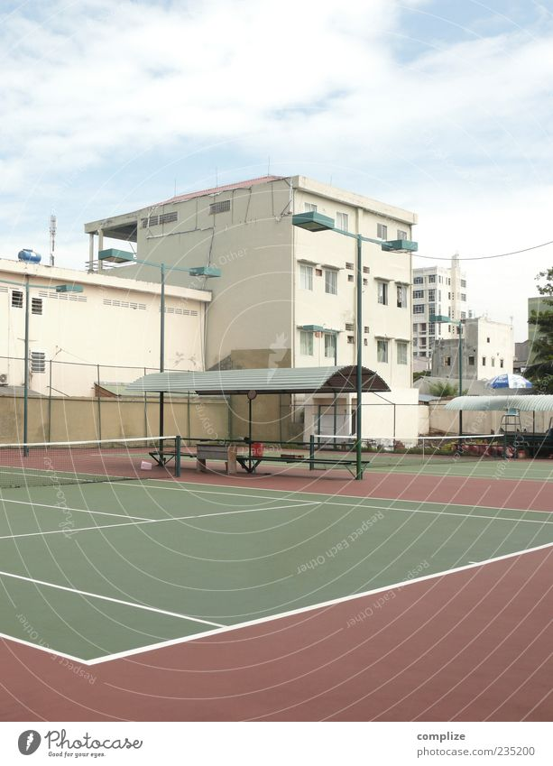 Summer House (Residential Structure) Wall (building) Wall (barrier) Places Manmade structures Sporting Complex Tennis court