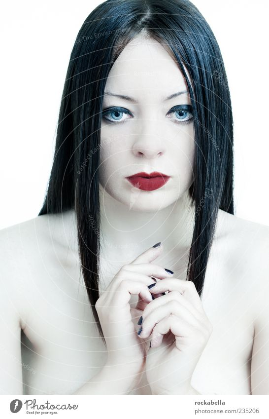 maria magdalena. Feminine Young woman Youth (Young adults) 1 Human being 18 - 30 years Adults Black-haired Long-haired Part Esthetic Exceptional Elegant