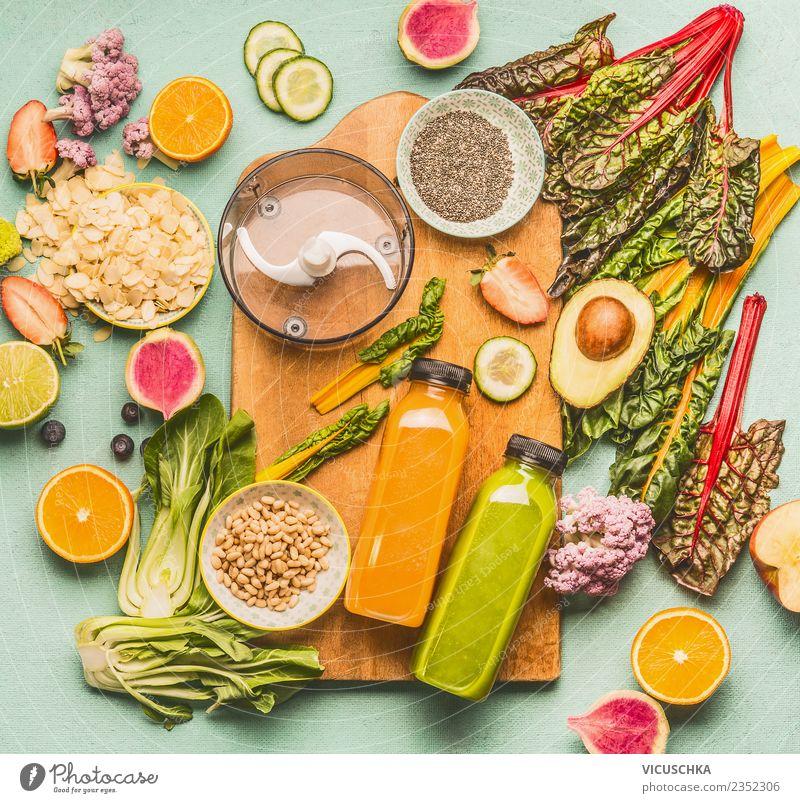 Healthy Eating Life Style Food Design Fruit Nutrition Orange Kitchen Beverage Vegetable Apple Bottle Cold drink Vegan diet