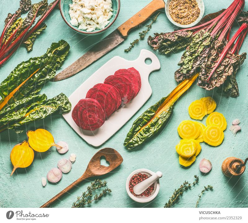 Healthy Eating Food photograph Yellow Style Design Nutrition Table Kitchen Vegetable Organic produce Crockery Cooking Knives Diet