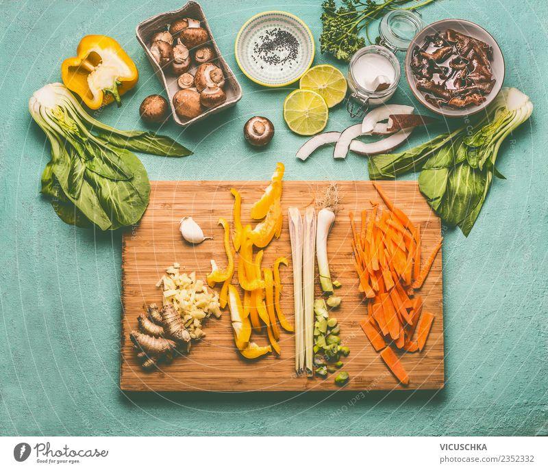 Asian cooking ingredients with Mu Err mushrooms Food Vegetable Nutrition Organic produce Vegetarian diet Diet Asian Food Crockery Bowl Style Design