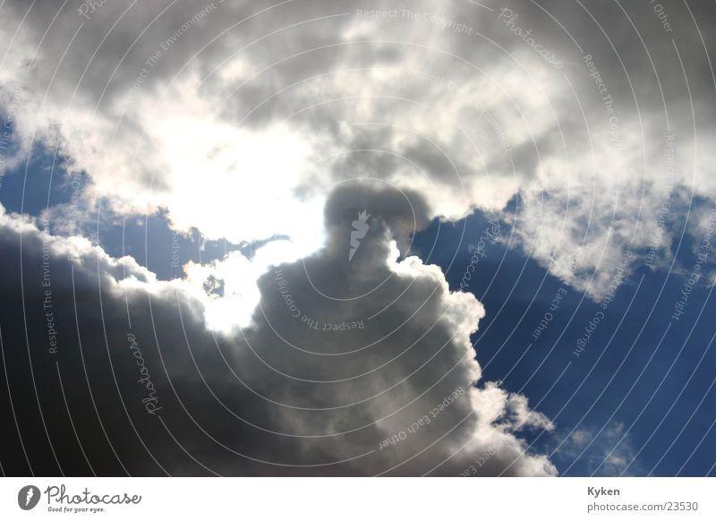 Sky Sun Clouds Rain Lighting Aviation Thunder and lightning Apocalypse