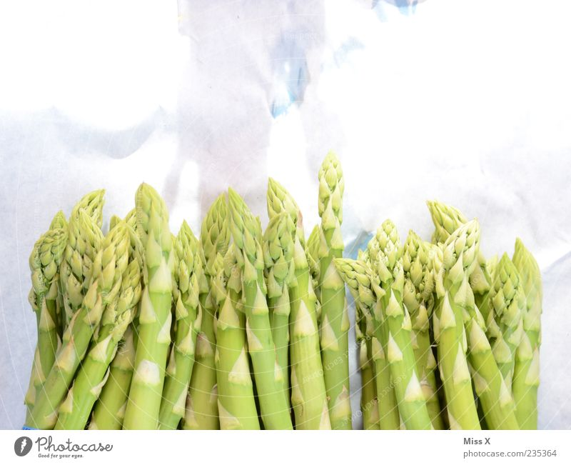 Green Spring Healthy Lie Food Multiple Fresh Nutrition Vegetable Delicious Organic produce Vegetarian diet Asparagus Asparagus season Asparagus head