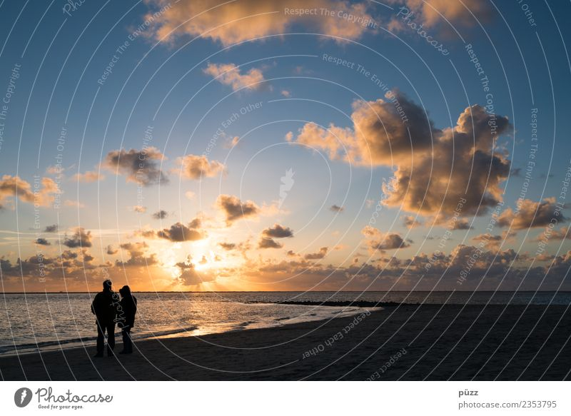 couple Vacation & Travel Freedom Sun Beach Ocean Island Human being Masculine Feminine Woman Adults Man Couple Partner 2 Environment Nature Landscape Sky Clouds