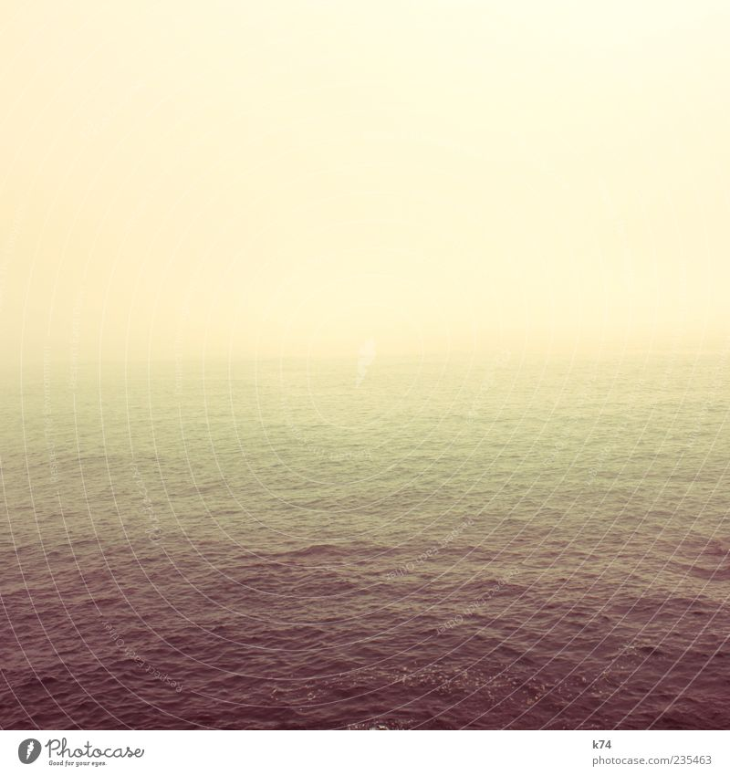 Sky Water Ocean Yellow Longing Peace Wanderlust