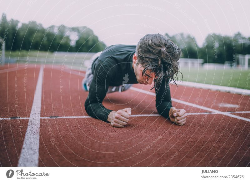 Young sports man doing workout Drinking water Lifestyle Joy Body Healthy Healthy Eating Health care Athletic Muscular Fitness Well-being Contentment Sports