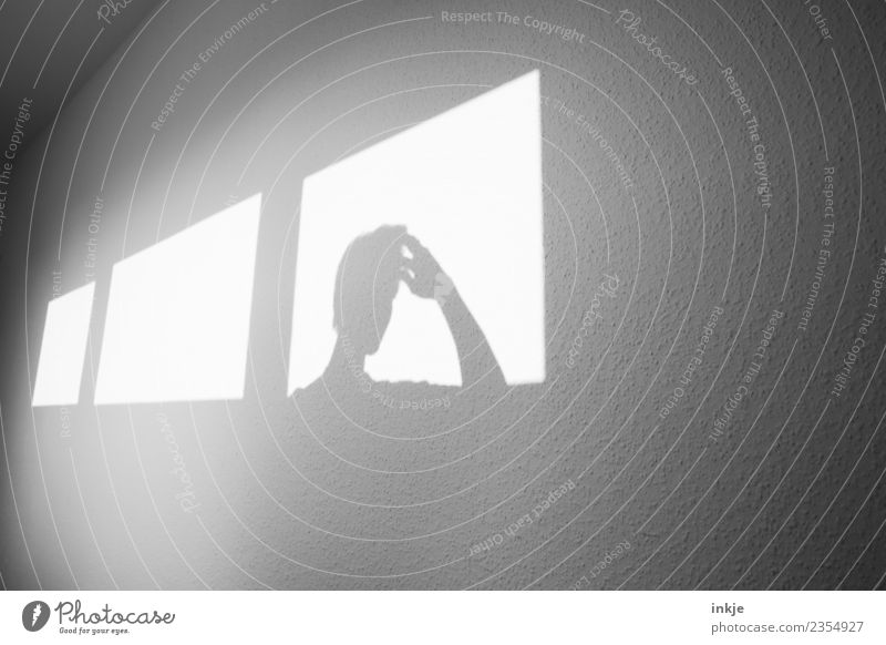Hand Window Wall (building) Sadness Playing Head Think Bright Room Meditative Idea Graphic Inspiration Sharp-edged Ask Concern