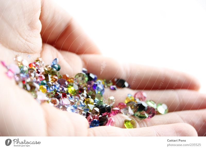 gems Hand Collection Stone Glass To hold on Indicate Treasure Multicoloured Crystal Fingers Near Bright Glittering Light Precious stone Luxury Seldom Uniqueness