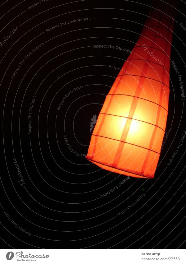 Red Lamp Dark Crazy Photographic technology Funnel