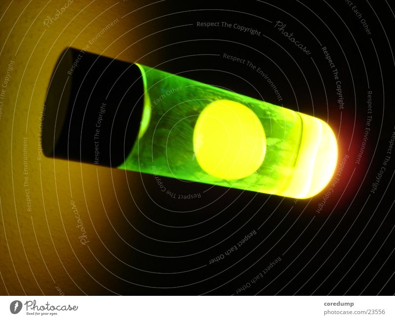 yellow_bubble Lava lamp Greeny-yellow Wax Light Photographic technology Bubble reflection Light (Natural Phenomenon)