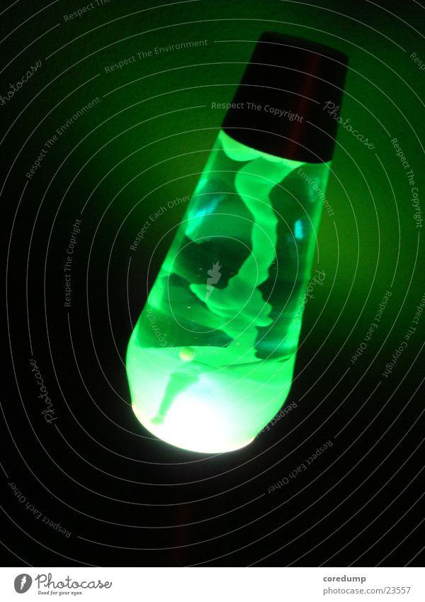 Green Lamp Dark Living or residing Lava lamp