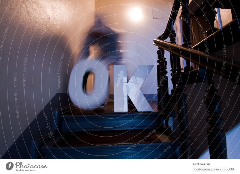 OK (5) Landing Descent Downward Go up Upward Window Handrail Banister House (Residential Structure) Man Apartment house Human being Deserted