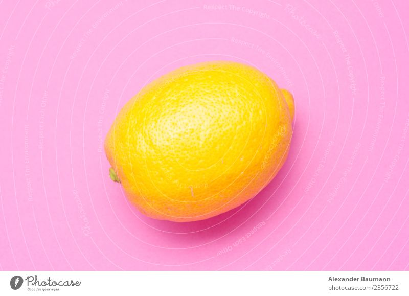 lemon on a pink violet background Juice Nature Yellow Violet Pink purple fruit citrus food fresh Blow juicy isolated healthy ripe sour Background picture