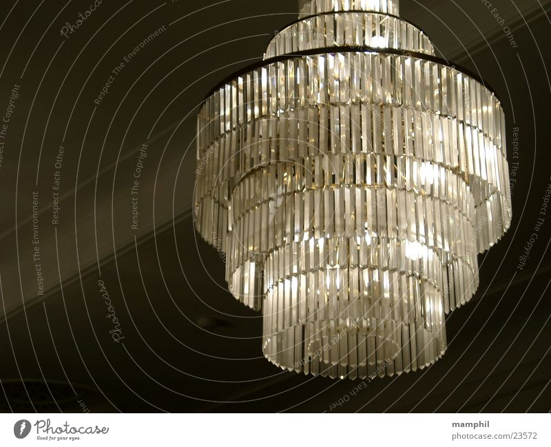 chandelier Chandelier Lamp Sixties Historic Crystal structure Blanket Castle X Theatre