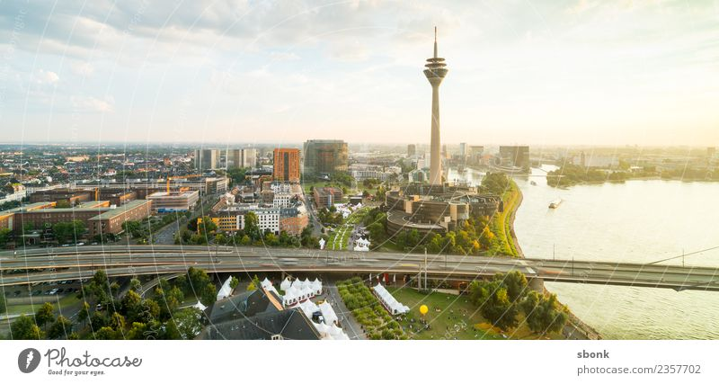 Vacation & Travel Town Architecture Building Germany Manmade structures Skyline City Duesseldorf