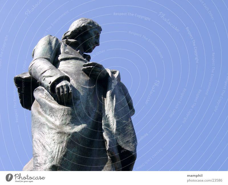 Giuseppe Robecchi Statue Man Milan Italy Human being Blue Sky X