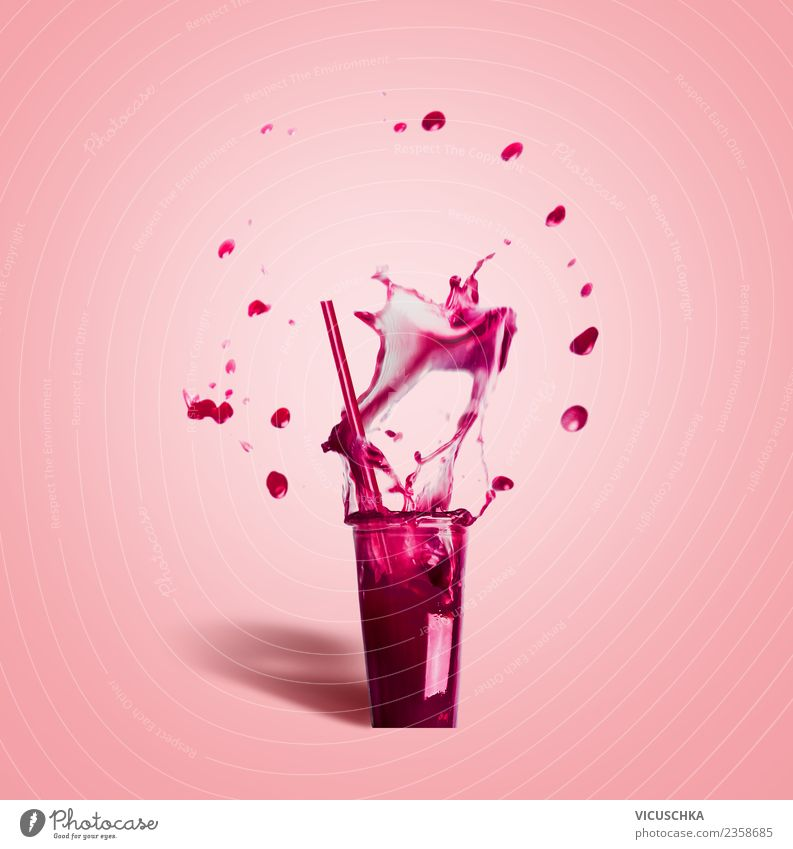 Summer Red Background picture Sports Style Food Pink Design Nutrition Modern Glass Drinking water Beverage Wellness Drop Bar